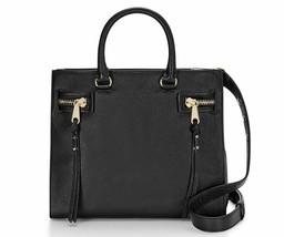 Rebecca Minkoff HF26IPBS44 Geneva Grained Cowhide Black Women's Bag - $167.31
