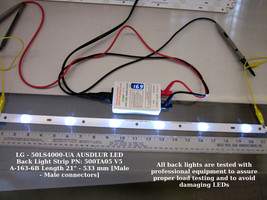 "Lg - 50LS4000-UA Ausdlur Led Back Light Strip Pn: 500TA05 V5 A-163-6B Length 21"" - $11.30"