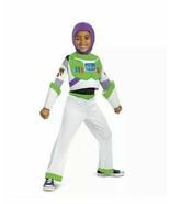 Kids Toy Story 4 Buzz Lightyear Glow In Dark Halloween Costume S 4-6 Dis... - £12.18 GBP