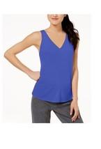 Calvin Klein Womens Vent Back Tank Top Ultramarine Blue Size Medium - $28 - NWT - $9.79