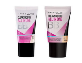 Maybelline ClearSmooth ALL IN ONE BB Cream SPF 21 PA++ 18ml Pack - $15.00