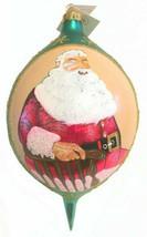 Radko Esquire Santa Signed #435/750 Christmas Ornament 1996 Rare with Ta... - $494.88