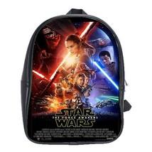 Backpack School Bag Star Wars The Force Awakens Battle Galaxy Planet Magic Sword - $33.00
