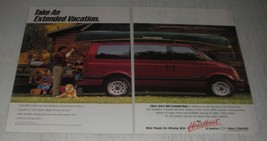 1991 Chevrolet Astro Ad - Take an extended vacation - $14.99