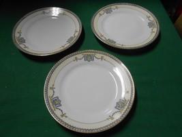 "Magnificent Vintage NORITAKE ""Austin""China ""M"" Handpainted-3 BREAD Plate... - $15.51"