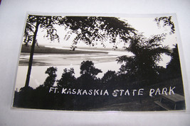 Rare Vintage RPPC Real Photo Postcard Kodak 1930-1950s Fort Kaskaskia St... - $8.09