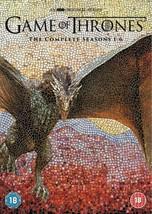 Game Of Thrones: The Complete Seasons 1-6 izione: Regno Unito] [Import a... - $167.72