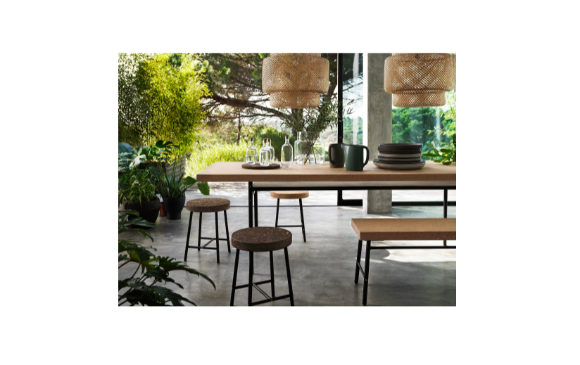 IKEA SINNERLIG Pendant Lamp, Bamboo, 703.150.30 - BRAND NEW
