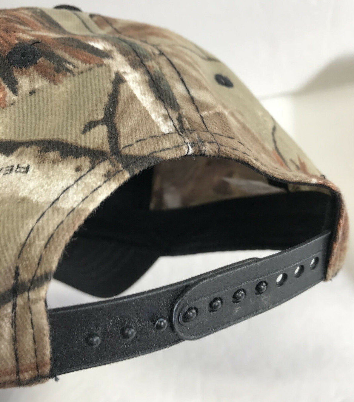 Hard Core Hunter Snapback Hat Realtree Camo Rifle Deer Skull Baseball Cap