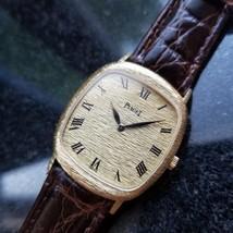 PIAGET Men's Midsize/Unisex 18K Solid Gold 9228 Hand-Wind Watch c.1990s LV517 - $2,840.04