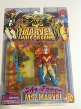 Marvel Hall of Fame She-Force Ms. Marvel Action Figure new w/wear RED ou... - $9.65