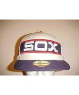 Chicago White Sox MLB Carlton Fisk #72 Adult Unisex Facisimile HOF Cap 7... - $47.02