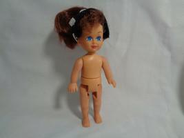 Vintage 1995 - 1998 Kid Kore Doll Brown Hair Blue Eyes Nude - $2.48