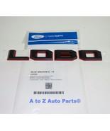 """NEW 2015-2018 Ford F150 Black & Red Outline """"LOBO"""" Tailgate Emblem, OEM - $31.95"""