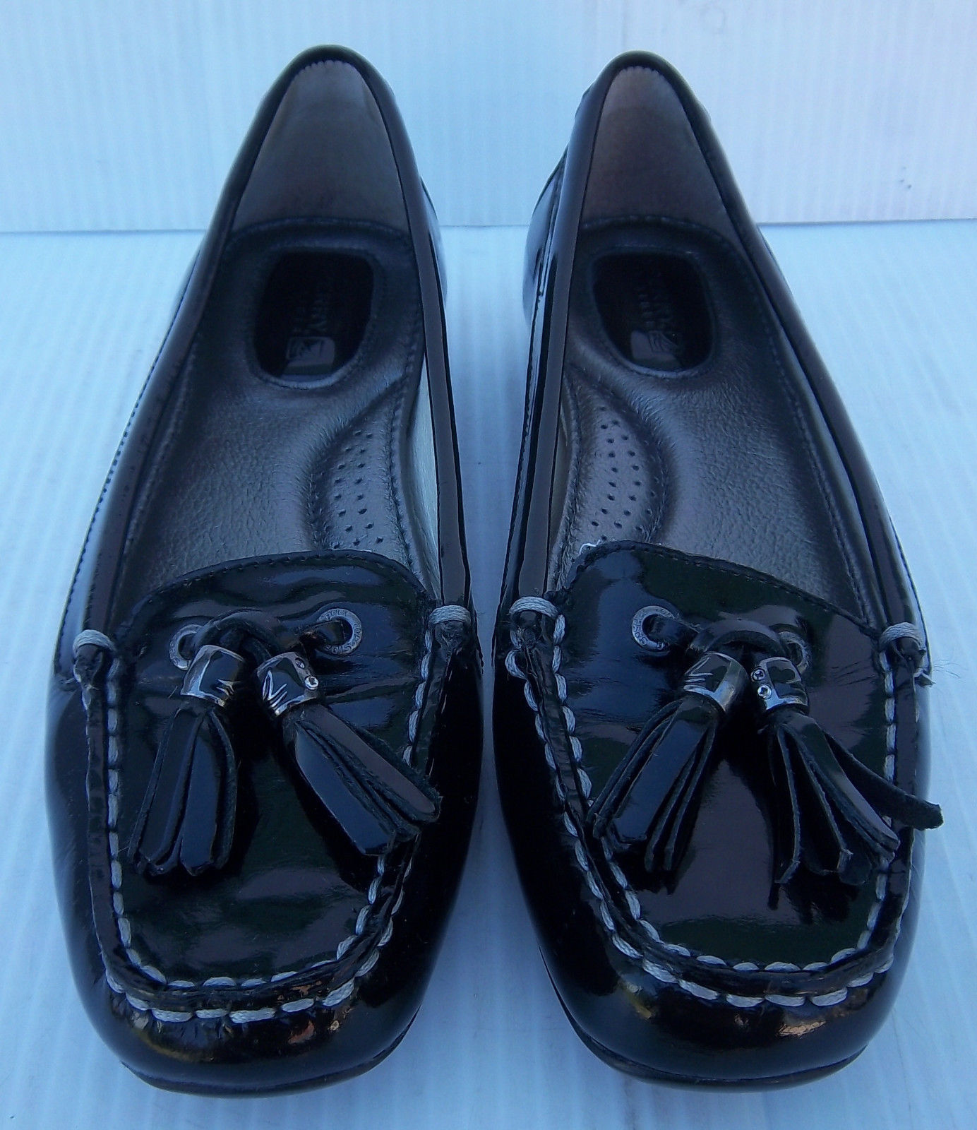 0217874be83 Women s Sperry Top-Sider Black Patent and 38 similar items. S l1600