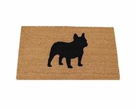 "French Bulldog Silhouette Doormat 18""x30"" - $46.25"