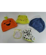 Lot of 3 Baby Hats, a pair of Mittens, and booties Newborn NB Accessories - $9.99