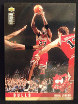 1995-96 Upper Deck Collector's Choice Michael Jordan #324 Basketball Card - $3.75