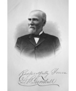 DAVID TURNBULL Ohio Founder Laporte Wheel Wagon Co - 1883 Portrait Print - $18.00