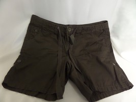 WOMANS CALVIN KLEIN JEANS SZ 10 BROWN SHORTS - $18.50