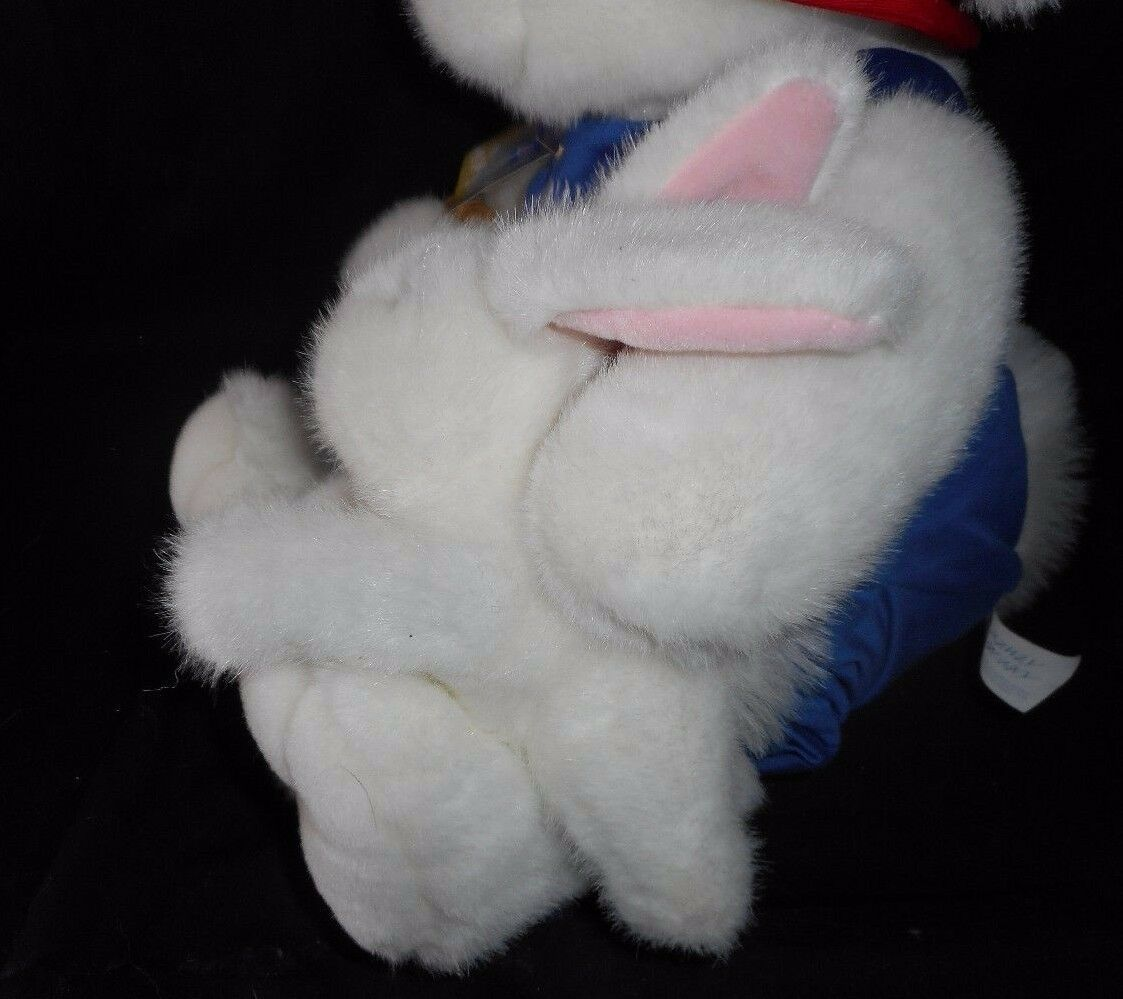 BIG VINTAGE COMMONWEALTH THE RUNAWAY BUNNY & BABY STUFFED ANIMAL PLUSH TOY W TAG