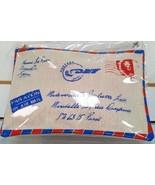 Avon Postcard Make Up Bag - $14.85