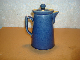 Blue Stoneware Creamer Lidded Bourne Denby England- Vgc - $24.95