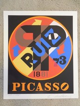 """Robert Indiana """"Picasso"""" Hand Signed & Numbered... - $2,227.50"""