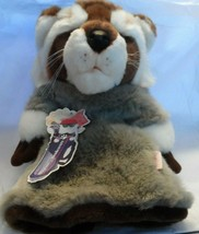 "Racoon GOLF Club COVER by Daphne 14""      - $35.00"