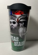Tervis Duck Dynasty Commander 24 oz Tumbler Fear The Beard Hot AND Cold ... - $13.55