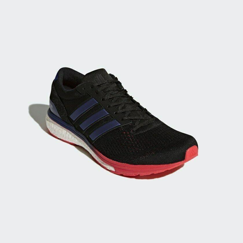 Adidas Adizero Boston 6 Herren Größe 8.5 BB6413 Marathon Neu Bequem Laufen image 6