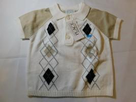 The Children's Place Baby Jungen Kurzarm Polo Hemd Pullover Größe 0-3 Mo... - $13.49