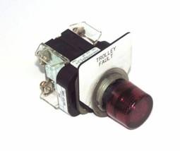 ALLEN BRADLEY 800T-QTL24R SER T PUSHBUTTON W/ 800T-NL24 MODULE & 800T-XA CONTACT
