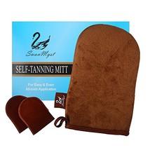 Self Tanning Mitt Applicator, Double Side Microfiber Sunless Tanner Glove - $11.88