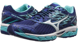 Mizuno Wave Paradox 4 Size 7 M (B) EU 37 Women's Running Shoes Blue 410934.5D00