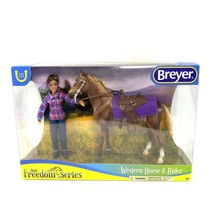 Breyer Horse #61116 Western Horse and Rider Horse Doll 2020 FREEDOM SERIES - $44.50