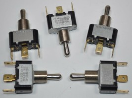 Lot of 5 Cutler Hammer Eaton 7503K15 Toggle Switch SPDT 10A/250AC  15A/125VAC - $12.93