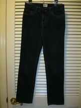 Childrens Place Skinny Stretch Dark Denim Blue Jeans Size 12 - $11.99