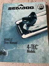 2005 Sea-Doo Seadoo 4-Tec Modelos Servicio Reparar Tienda Manual OEM 219... - $42.29