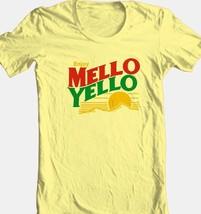 Mello Yello T-shirt retro soda vintage 1980s 100% cotton graphic yellow tee image 2