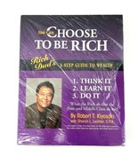 Rich Dad's You Can Choose to Be Rich 3-Step Guide to Wealth Robert Kiyos... - $42.06