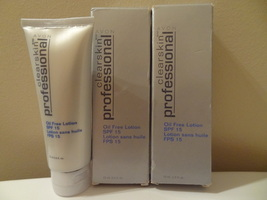 Lot Of 2 Avon Clearskin Professional Oil Free Lotion Spf 15 2.5 Ounce New Bo - $14.99