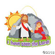 Jesus Appears to Mary Sign Craft Kit - $15.36