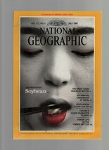 National Geographic - July 1987  Great Lakes Map, Soybean, Kathmandu, Ba... - $1.47
