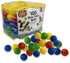 Ball Pit Balls - 100 Pc - 7cm Phthalate And BPA Free Pit Balls With Reu... - £18.01 GBP