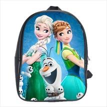 School bag frozen anna elsa olaf bookbag  3 sizes - $38.00+