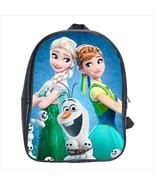 School bag frozen anna elsa olaf bookbag  3 sizes - $38.00+