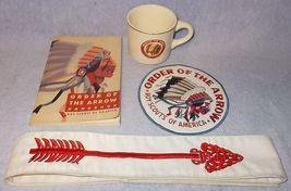 Boy Scouts of America BSA Order of the Arrow Lot Mug Sash Patch Manual - $39.95