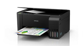 EPSON L3100 EcoTank All-in-One Ink Tank Inkjet Multi-function Printer Scan Copy image 2