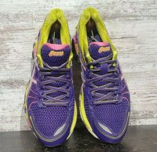 Womens Asics Gel Sendai Running Shoes SZ 6.5 37.5 Used T36DQ Sneakers Trainers image 4